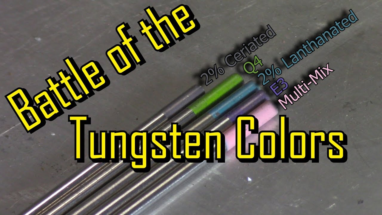 Tfs battle of the tungsten colors also youtube rh