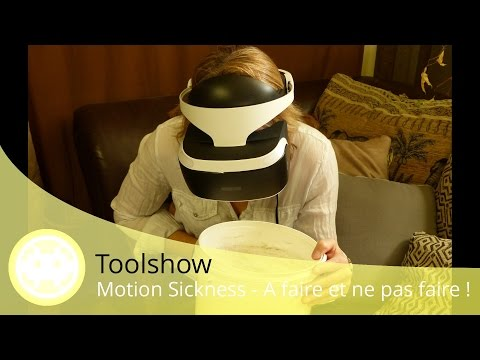 Motion Sickness PlayStation VR - Ce que c