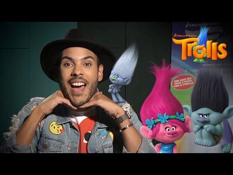 Hugo Gloss em Trolls: Papo com Justin Timberlake e Anna Kendrick + Bastidores da versão brasileira