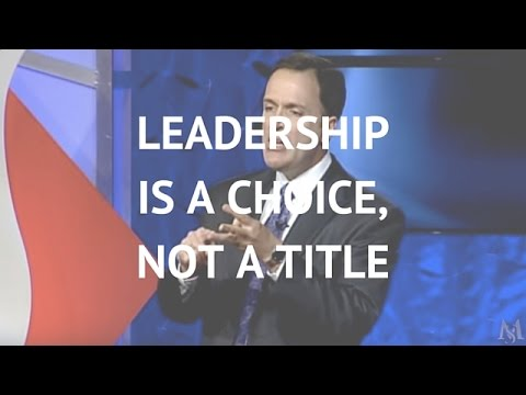 Leadership is a Choice, Not a Title | Leadership Expert Mark Sanborn