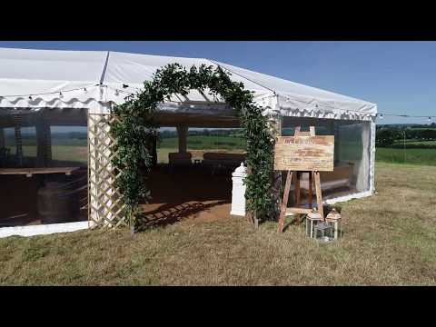 Atrium Frame Wedding Marquee