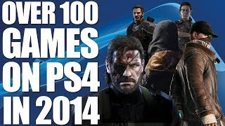 100+ PS4 Games In 2014: The Ultimate List