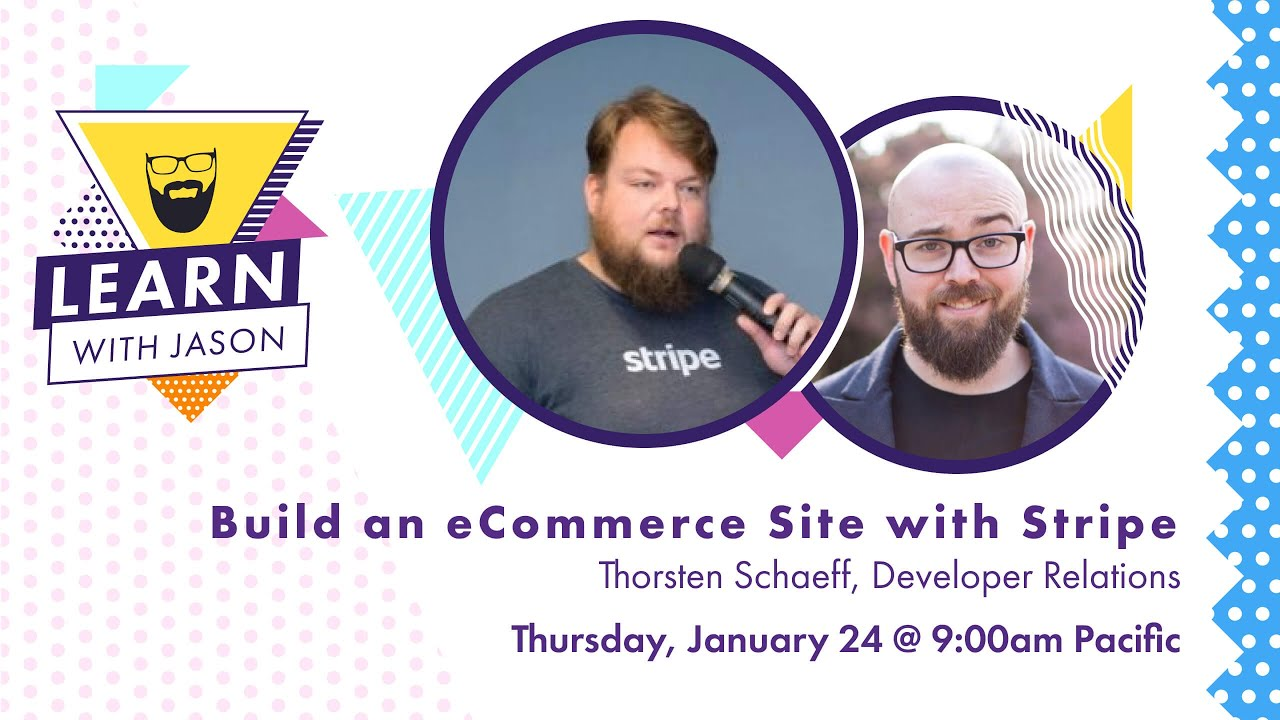 Build an Ecommerce Site Using Stripe and Gatsby — Learn With Jason