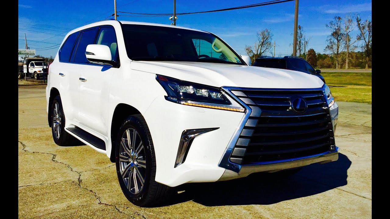 2016 Lexus LX 570 Full Review Start Up Exhaust