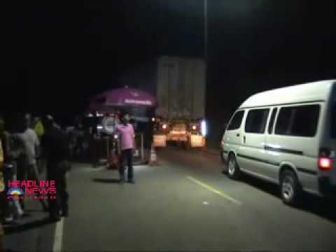 ระนองทหารร่วมตมจับรถทัวร์ขนพม่าไปหาดใหญ่