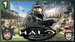 The Boys head back to where it all began. Watch the top left for unaltered, non-stop, Halo: CE action or watch the bottom right for that new new Halo: CE Anniversary.
