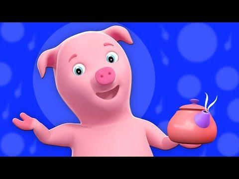 Полли Положите чайник | детские рифмы | песня для детей | Polly Put The Kettle On | Nursery Rhymes