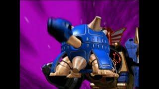 Power Rangers Ninja Storm - Snip It, Snip It Good - Megazord Fight | Episode 9
