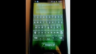 how to remove password to galaxy ace 2