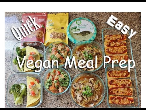 Vegan Meal Prep | NO MOCK MEATS | #HighProteinVegan Bodybuil
