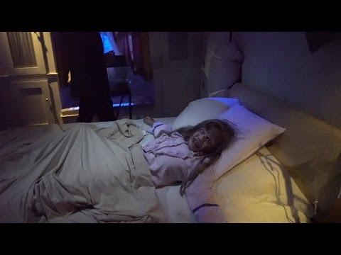 The Exorcist Haunted House Full Walk Through 2016 | Halloween Horror Nights Hollywood