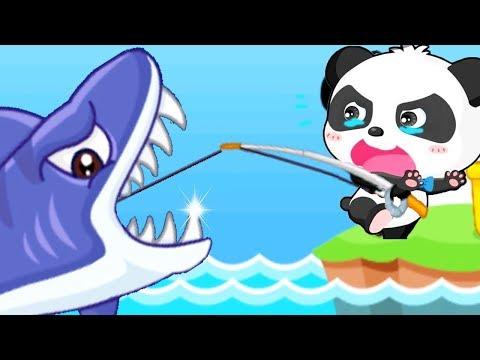 Baby Panda Kids Game - Baby Panda Fishing + Animal Paradise | Baby Fun Fishing And Learn Sea Animals