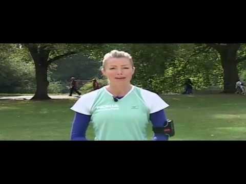 Nell McAndrew's  Royal Parks Foundation Half Marathon Tips
