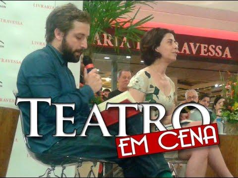 Gregorio Duvivier fala sobre Fernanda Torres na Livraria Travessa (2014)