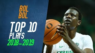 Bol Bol Top 10 Plays from 2018-2019 NCAA Season