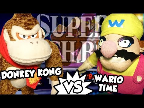ABM: Donkey Kong Vs Wario !! SUPER SMASH BROS ULTIMATE !! ᴴᴰ