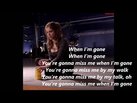 Anna Kendrick - Cups ''When I'm Gone'' (Radio Version) Pitch Perfect