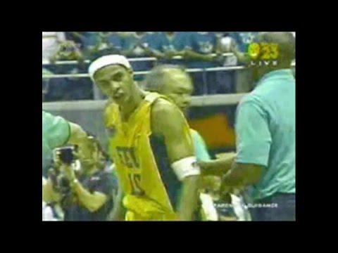 Arwind Santos Sinapok Dahil Sa Game-Winning Baskets-FEU vs DLSU 2005