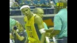 Arwind Santos Sinapok Dahil Sa Game-Winning Baskets-FEU vs DLSU 2005
