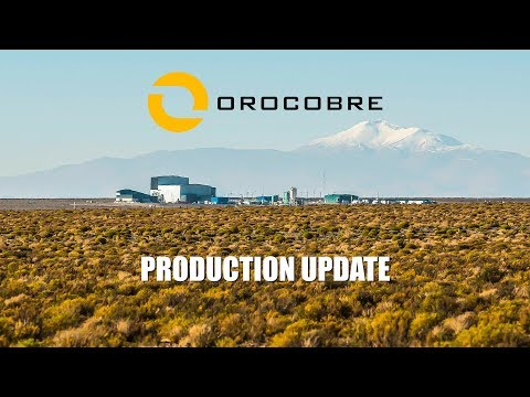Orocobre Limited - Olaroz Lithium Facility Production Update