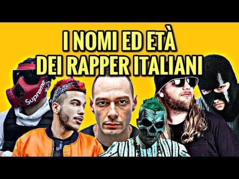 I nomi ed et dei rapper italiani youtube for Nomi dei politici italiani