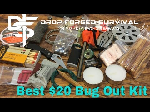 Best Sub $20 Bug Out Kit - FIRE BOSS KIT