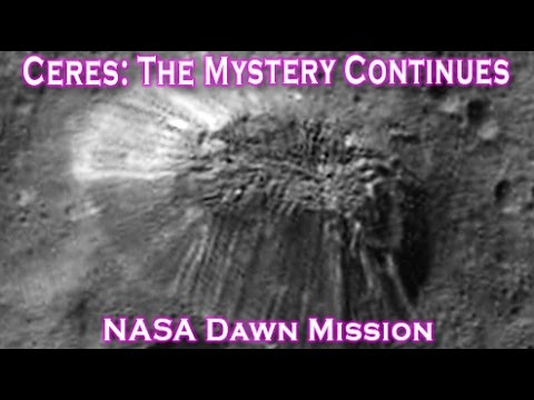 Ceres: The Mystery Continues - New Angle Of Lonely Mountain