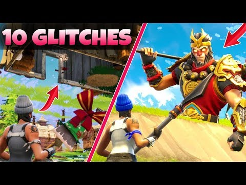 Top 10 BEST/WORST GLITCHES in Fortnite...