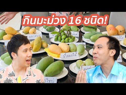 รีวิวมะม่วง 16 ชนิด! พันธุ์ไหนอร่อยที่สุด?!