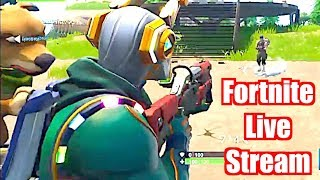 Fortnite Season 9 - Live Right Now - FREE SHOUT OUTS!