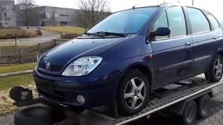 Авто покупка в германии Renault Scenic обзор часть 1