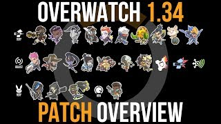 Overwatch Patch 19 March Overview