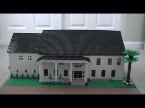 Custom Build- LEGO Dream House: The Outside (Part 1 of 3) - YouTube