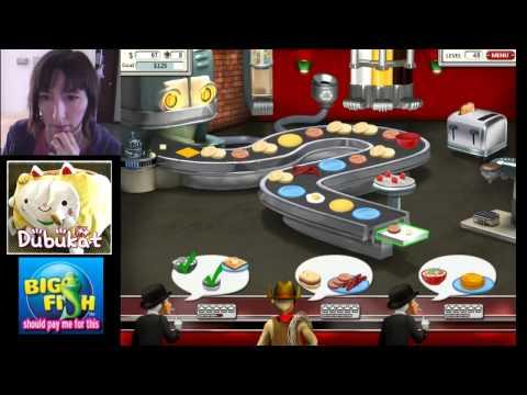02 Burger Shop 2 Game Play / Big Fish Games
