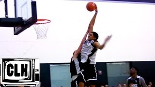 Karl Towns POSTERS DEFENDER at 2014 Nike Hoop Summit - Kentucky Bound