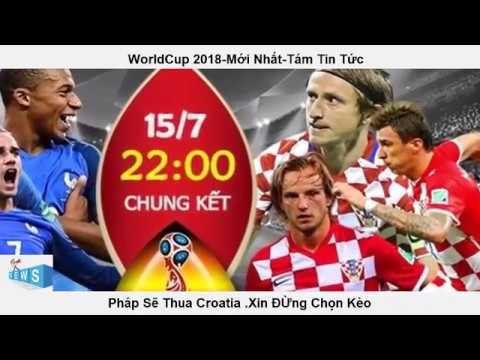 Chung Kết Pháp Với Croatia worldcup 2018,Pháp Có Thể thua Croatia vì  Mbappe