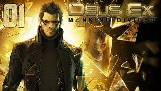 ЭПИЧНОЕ НАЧАЛО ► Deus Ex: Mankind Divided |1| Прохождение