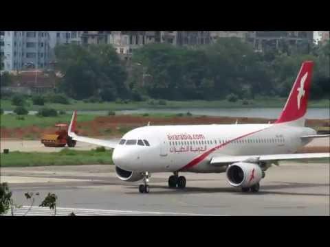 [HD] Plane Spotting @ Hazrat Shahjalal International Airport, Dhaka: Episode-34