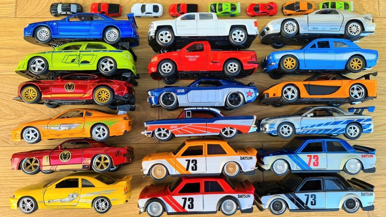 Die cast Metal Scale Model @Jada Cars Jada Cars and Fast Furious Cars