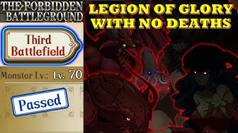 Langrisser M - The Forbidden Battleground - Third Battlefield Lv70 - Legion of Glory