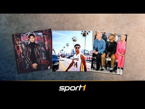 Fashionweek und NBA: So tickt Bayern-Neuzugang Serge Gnabry | SPORT1