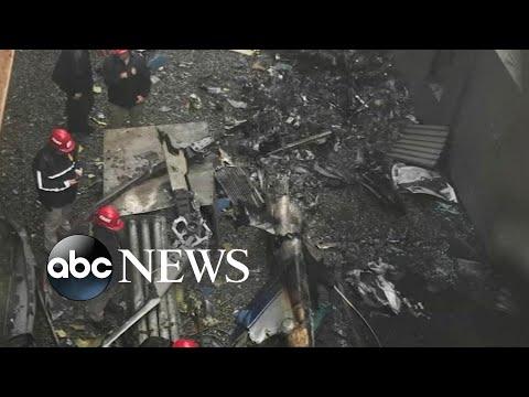 NYC chopper crash,