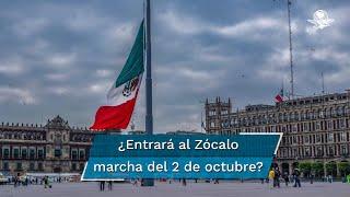 La jefa de Gobierno de la Ciudad de México, Claudia Sheinbaum, aseguró que están en comunicación con los organizadores de la marcha y todavía no decide si van a tener un evento en Tlatelolco