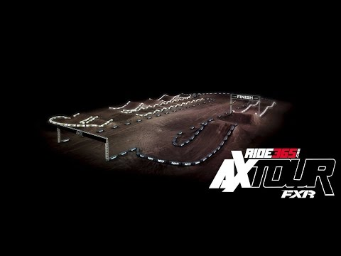 Track Map For Round 3 Of The 2017 Ride365.com Arenacross Tour