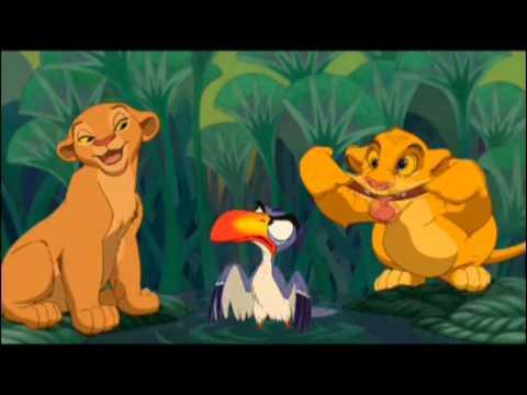 HD & 3D - Je voudrais déjà être roi - Le Roi Lion