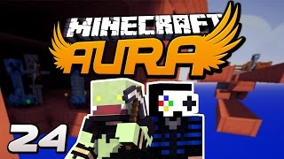 Minecraft AURA #24 - Leben riskieren bei der Mob-Falle mit GLP! | ungespielt