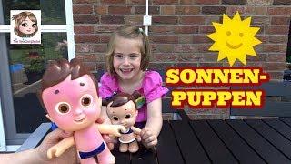 PUPPE MIT SONNENBRAND ☀️ Sonnenpuppen Lotte und Max werden ohne Sonnencreme rot | Nivea Sun