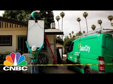 Tesla To Combine With SolarCity In All-Stock Deal | Squawk Box | CNBC