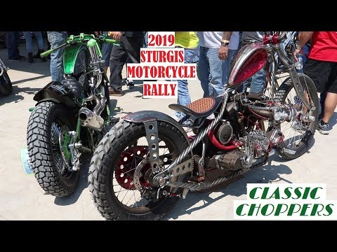 STURGIS MOTORCYCLE RALLY 2019 | OLD SCHOOL CHOPPERS & MORE