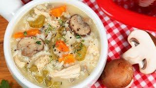 Turkey & Wild Rice Soup | #Homemade